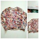 Фирменная блузка косуха promod, размер м