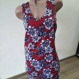 Платье платице сукня сарафан размер м 10 легкое красивое new look New Look