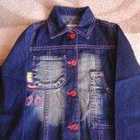 Пиджак жакет джинсовый