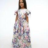 Шикарное праздничное платье Шарм цветочный