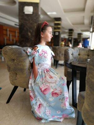Платье на выпускной нарядное хлопок для девочки