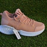 Женские кроссовки сетка аналог найк Nike fila balenciaga бежевые