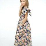 Красивое платье нарядное на лето хлопок