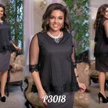 Платье Длина изделия 100 см, рукав 40 см, сетка 65 см. Ткань креп дайвинг с напылением пр-ва Турци