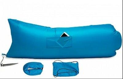 Надувной гамак диван-шезлонг ламзак Lamzac с карманом 2.35м.