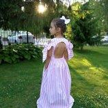 Шикарное платье Шарм на девочку хлопковое