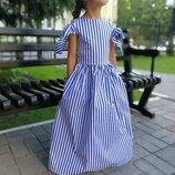 Яркое нарядное платье Шарм хлопок