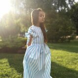 Платье Шарм на девочку хлопковое нарядное