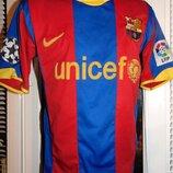 Спортивная фирменная футболка Nike Барселона Давид Вілла.s-М .