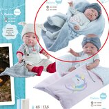 Пупс кукла младенец Bebita новорожденный, 45 см, Paola Reina 05185