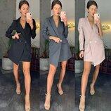 Модное платье пиджак 148