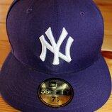 New York Yankees Нью-Йорк Янкиз кепка - реперка, снепбек, хип-хоп с прямым козырьком. окружность