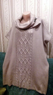 Ботал Красивая очень и теплая накидка Esprit,можно как пончо как кардиган,или свитер