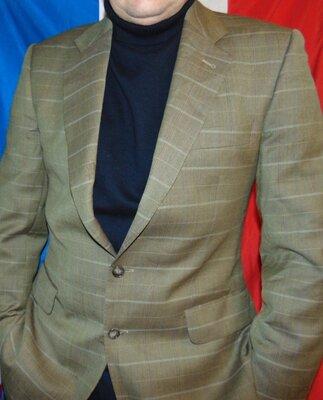 Стильний нарядний фирменний пиджак бренд Den Haag. Германия .м-л .