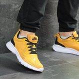 Кроссовки мужские сетка Nike Free Run 7.0 yellow