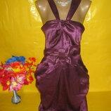 Очень красивое женское нарядное платье Spotlight рр 12 грудь 42 см