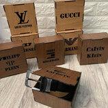 Подарочная деревянная коробка для ремней c логотипом, брендированая