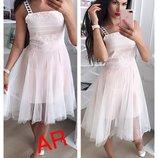 Платье 3 цвета 44-46 размеры