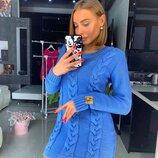 Вязаное платье «КОSTA» 42/46 пять расцветок