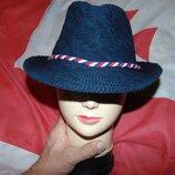 Стильная фирменная шляпка шляпа бренд F&F.10-15 лет .