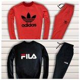 Стильные мужские костюмы Adidas и Fila XS-S-M-L-XL