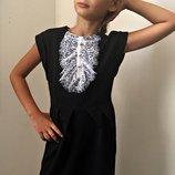 Сарафан -платье Жабо , рост 122 128 134.