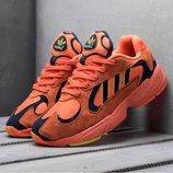 Скидка. Топ качество. Бесплатная доставка. Кроссовки Adidas Yung-1 оранжевые KS 892