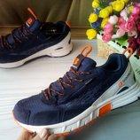 Мужские кроссовки фирмы baas синие размер 41-46