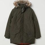 Куртка удлиненная H&M термокуртка на мальчика