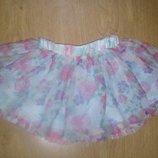 Юбка цветочная юбка фатин 1,5-2,3 года