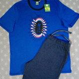 Летний костюм UEFA от Livergy Германия Lidl или пижама, футболка шорты