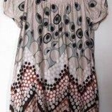 Нежное платье из натурального шелка Mango