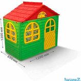 Детский домик игровой со шторками 02550 Doloni, дом, будиночок долони