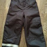 р.116-122, H&M теплые лыжные термо-штаны