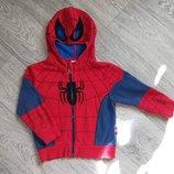 Пайта толстовка на замке человек паук Spider man