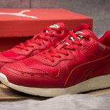 Кроссовки Puma кожа красные новинка весна 2019