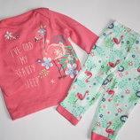 Набор костюм пижама р3-6мес Nutmeg