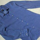 Новая рубашка классика H&M р.S-M/ рост 170 см