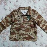 Карнавальный новогодний костюм куртка военного на 7-9лет