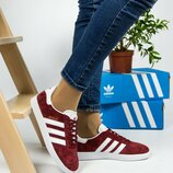 Жіночі кросівки Adidas Gazelle   Женские кроссовки Адидас Газель