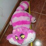 Мягкая игрушка кошка кот Чеширский персонаж из мультфильма Алиса в стране чудес Дисней Дісней Disney