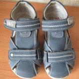 Закрытые сандали B&G. Размеры 27, по стельке 17,3