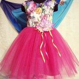 Нарядное платье Малинка