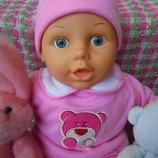 Кукла пупс с клеймом Cititoy 1994г и биркой Chad Valley рост 40см