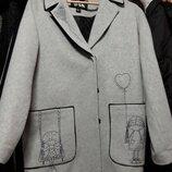 Полу пальто Белорусский кашемир