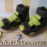 Ортопедические кожаные сандалии ORTIKI - весенние расцветки
