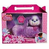 Puppy Surprise Plush Chloe Беременная собака с щенками фиолетовая Хлоя