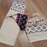 Шапка шарф Zara комплект
