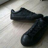 Кожаные кроссовки, кеды Converse All Star
