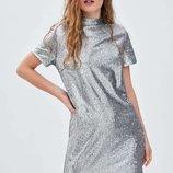 Паеточное платье Zara S-M-L